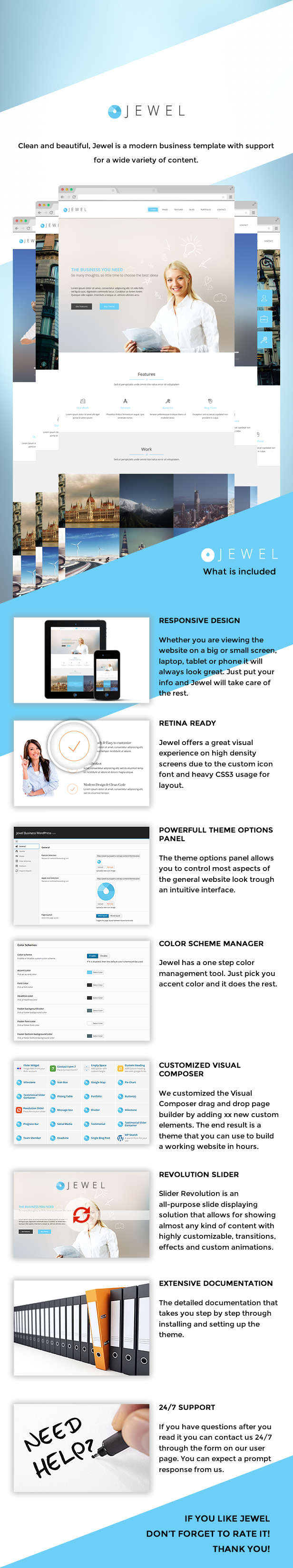 Jewel - Responsive Business WordPress Theme